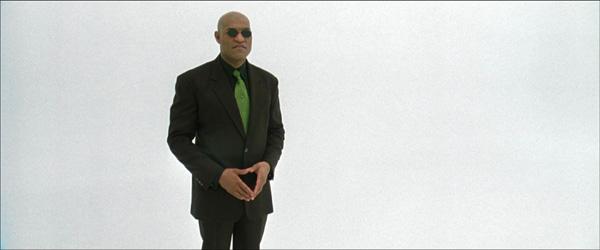 Matrix Morpheus White Room