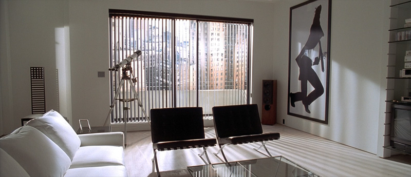 American Psycho Paul Allen Apartment Apartment Poster